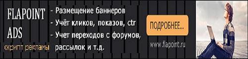 Рекламная система Flapoint Ads