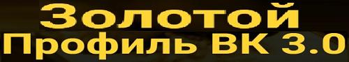 Видеокурс Золотой профиль ВКонтакте
